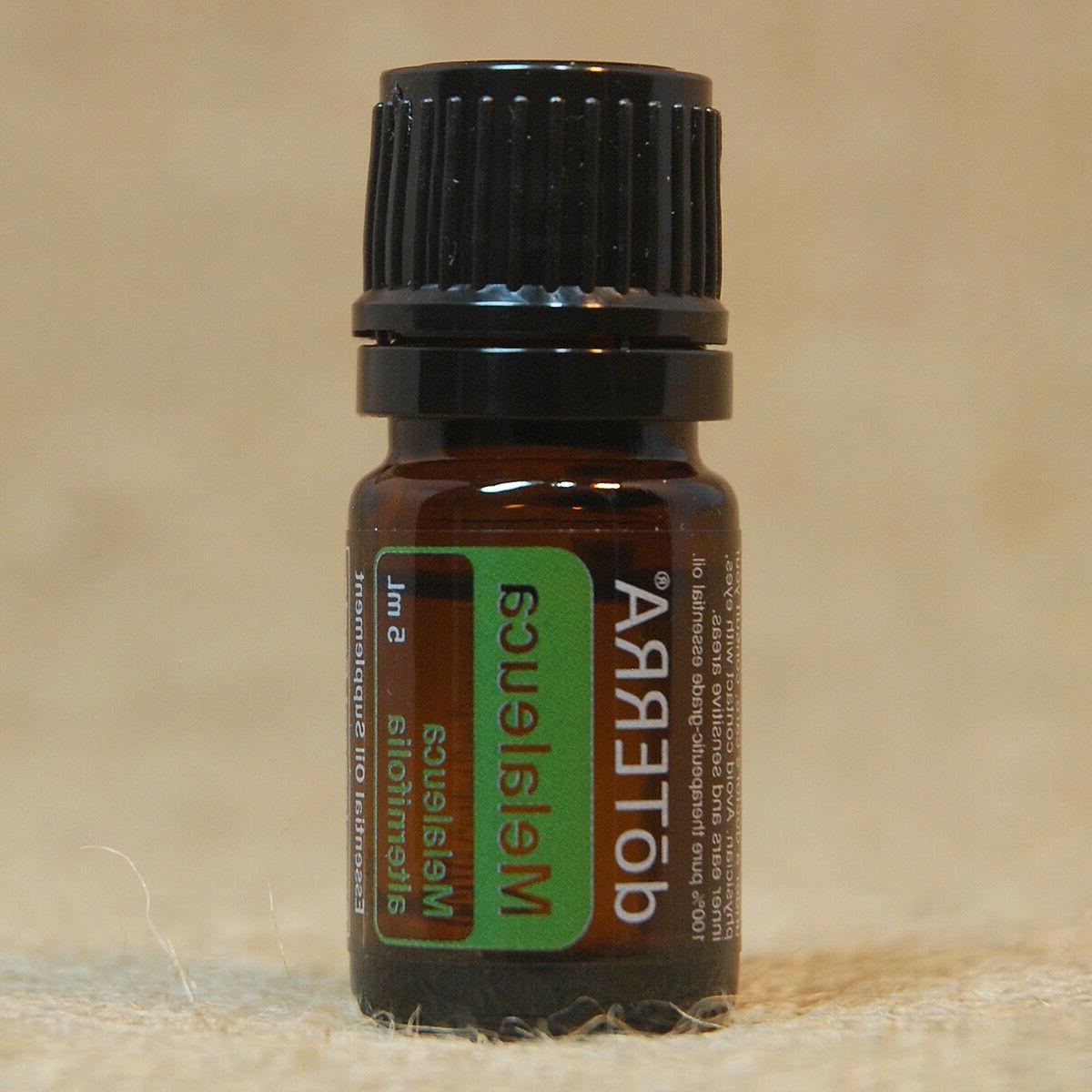 doterra melaleuca 5ml essential oil new unopened