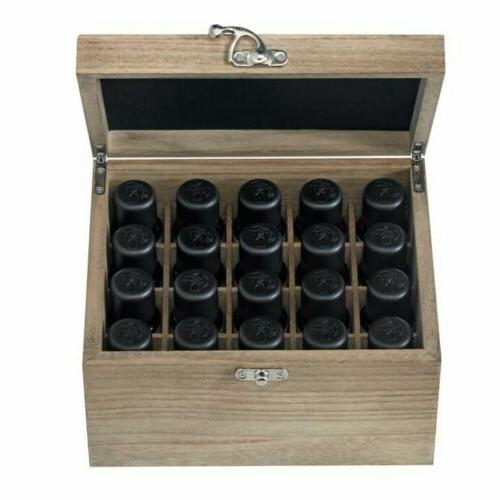 Ellia Essential Oil Wood Storage Essential Oils