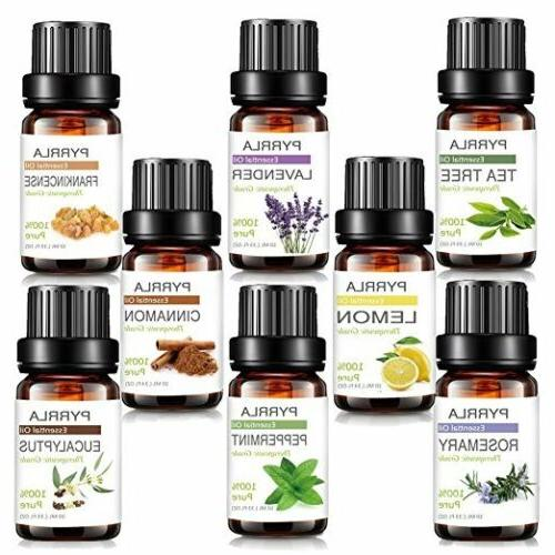 Aromatherapy Natural Pure Essential Fragrances