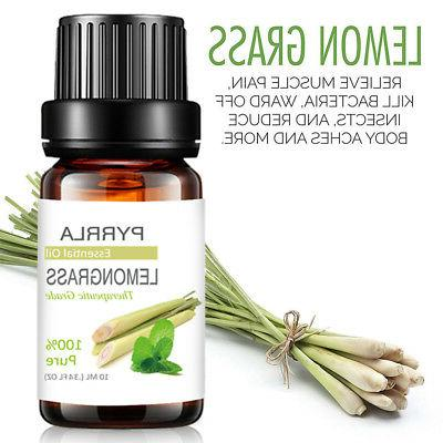 Aromatherapy Oils 100% Natural Pure Essential Fragrances 10ml US