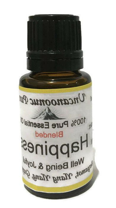 Essential 100% Pure Blended Essential Aromatherapy 15ml