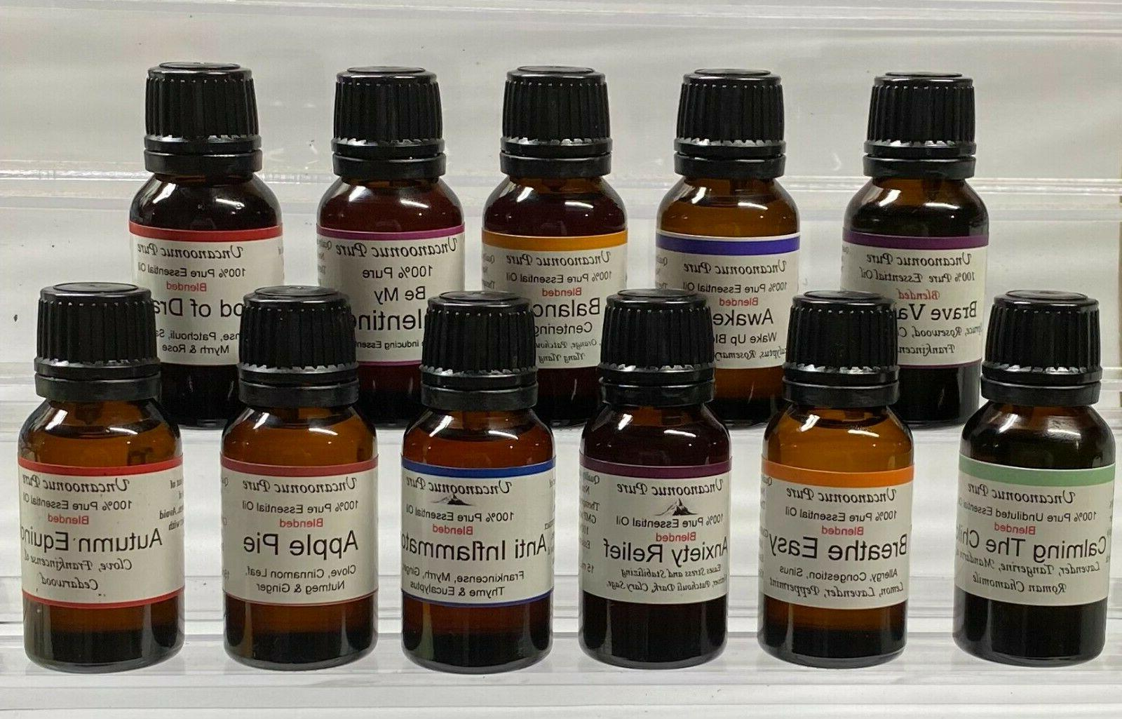 essential oil 100 percent pure blended essential