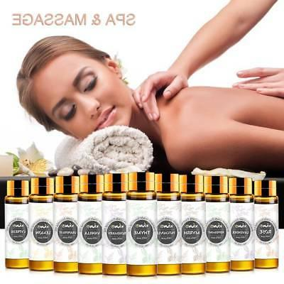 10ml & Aromatherapy Essential Grade Free