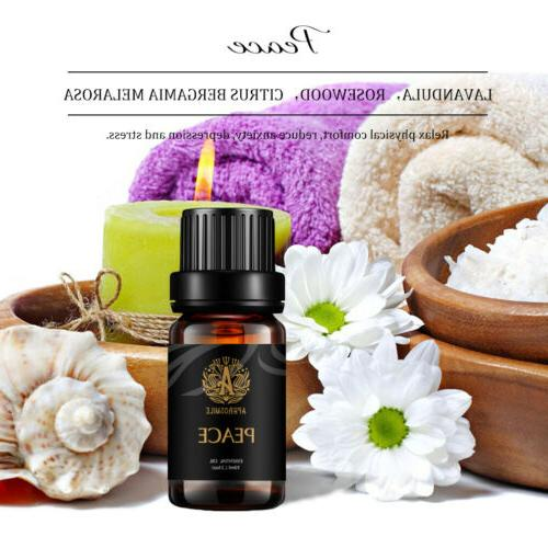 Essential 100% Natural Aromatherapy Peace Balancing Relief Anxiety