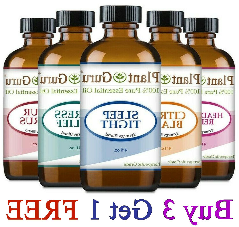 essential oil blends 100 percent pure natural
