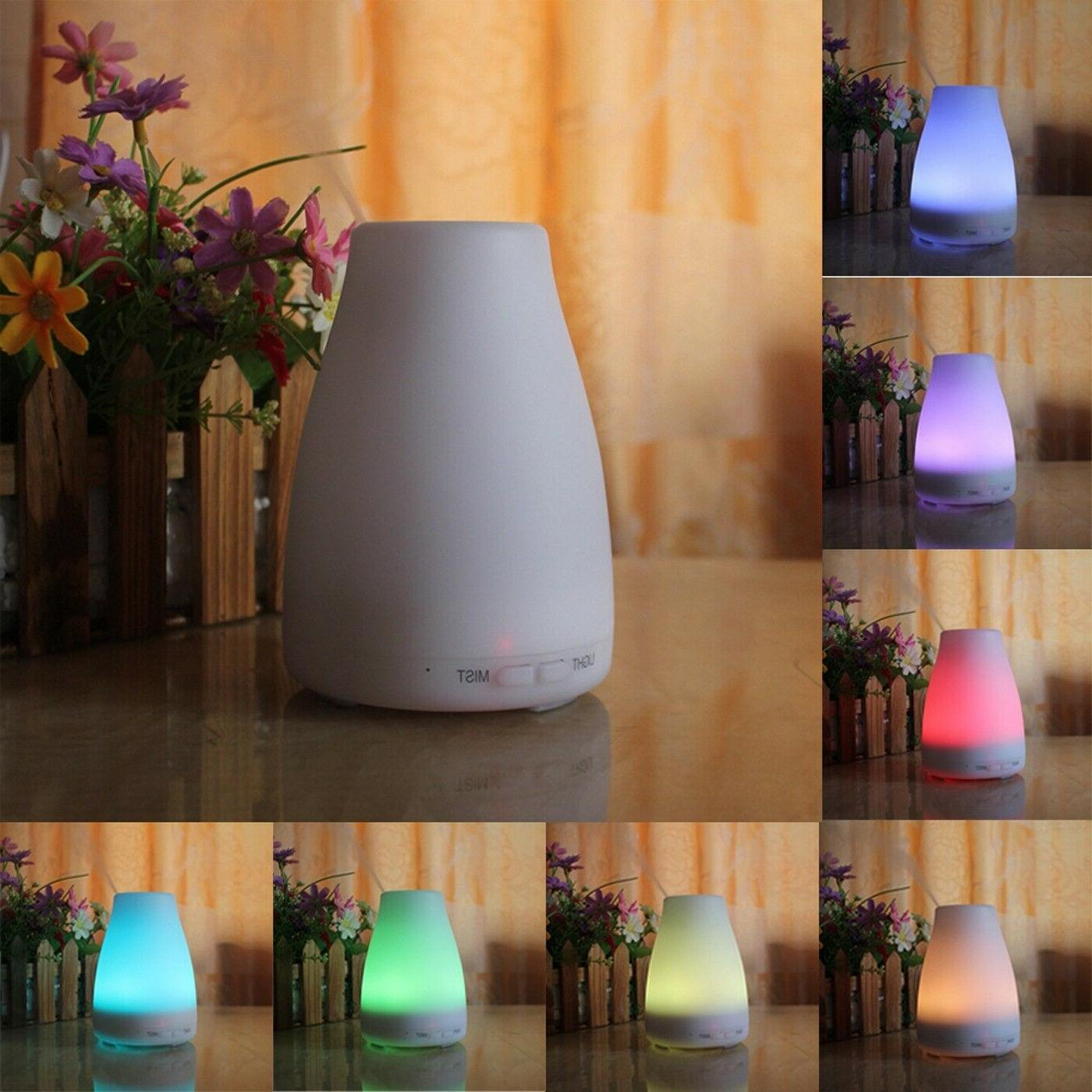 Essential Cool Mist Ultrasonic 7-Color LED
