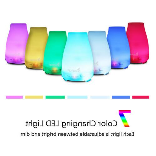 Essential Oil Diffuser Humidifier Air Aromatherapy LED Light