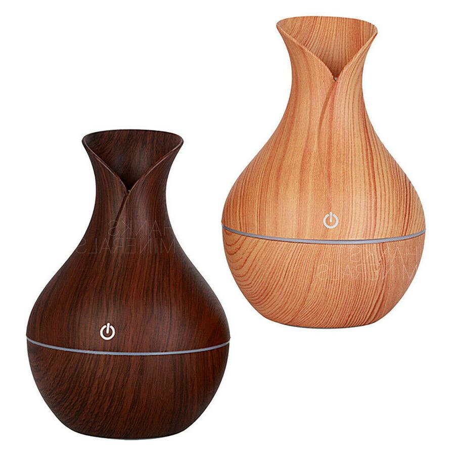 Essential Diffuser Humidifier Aromatherapy Aroma 130ml