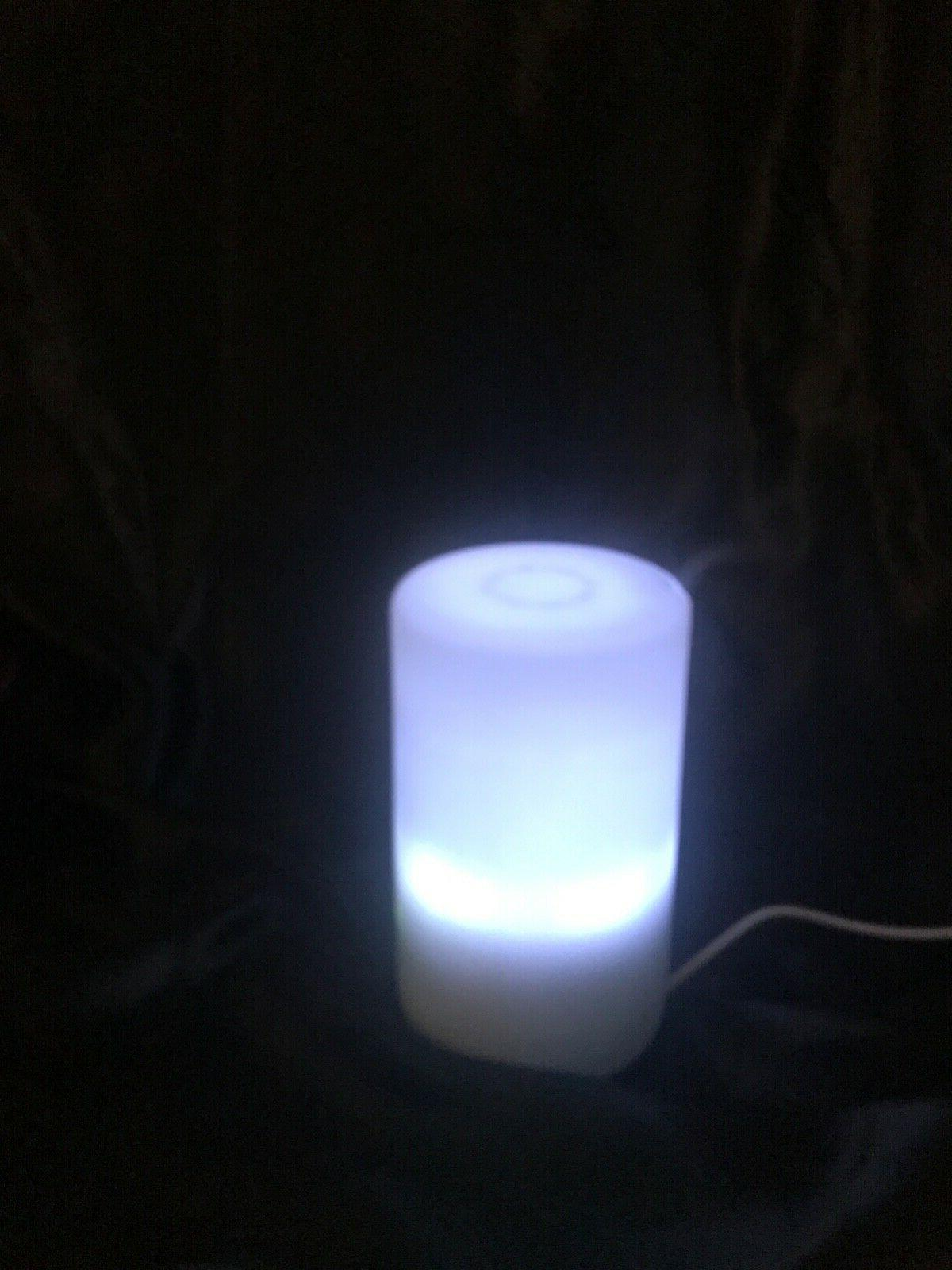 Essential Oil with 7 color Uses USB cord or power adapter.