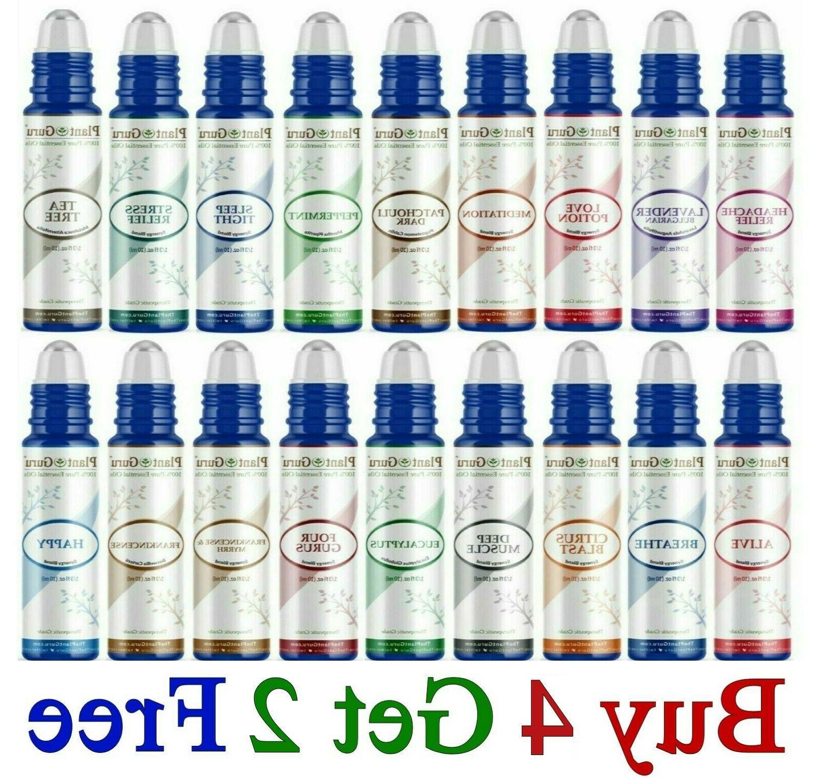 essential oil roll on blends roller balls