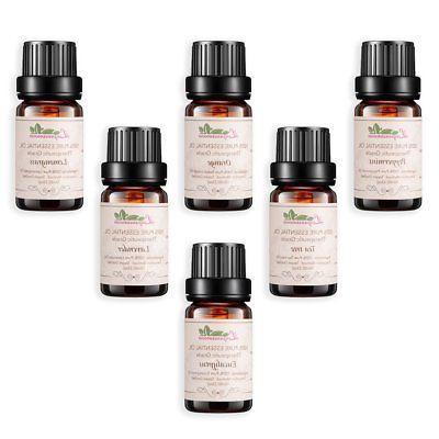 Lagunamoon Essential 6 100% Natural Grade Oils10ml