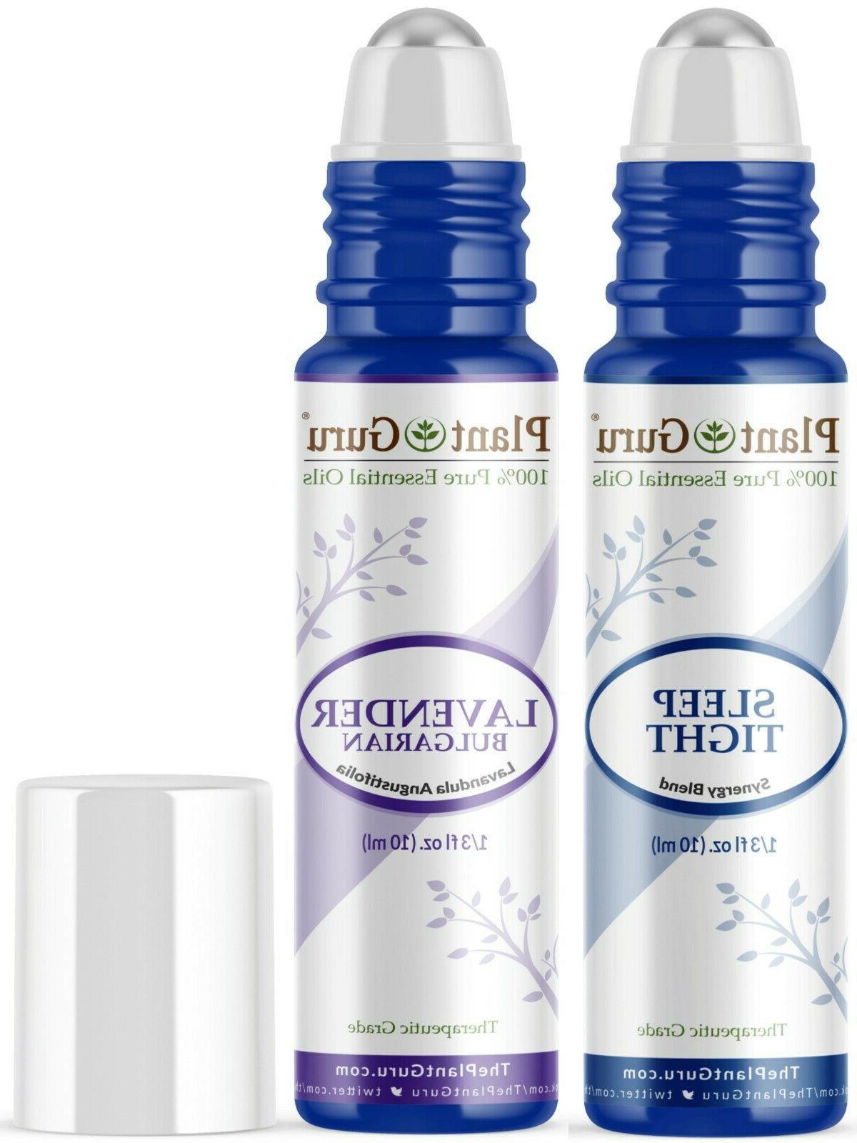 Essential Oil Sleep Blend Roll On Set 10ml For Calming, Good