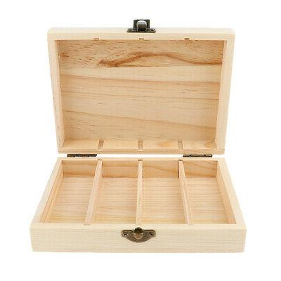essential oil storage box wooden aromatherapy case