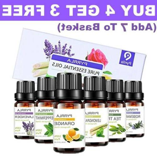 essential oils 100 percent pure natural aromatherapy
