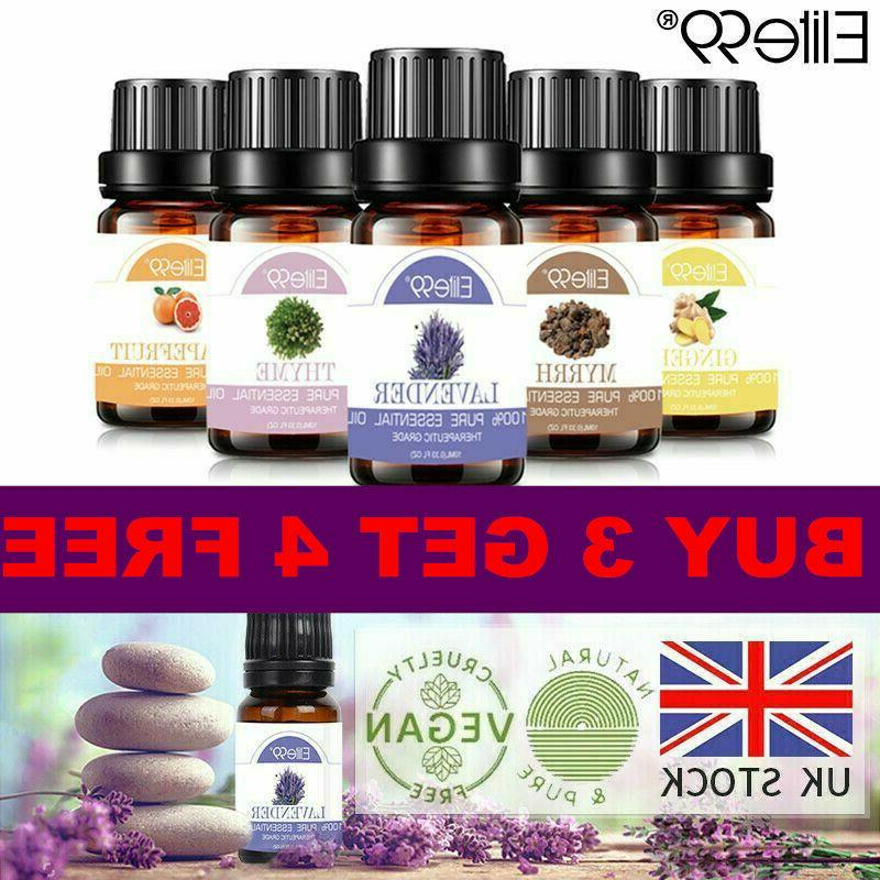 essential oils aromatherapy 100 percent pure therapeutic