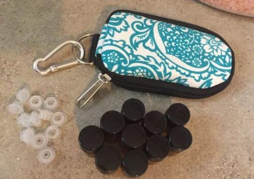 ESSENTIAL OILS SAMPLE INCLUDED..TEAL