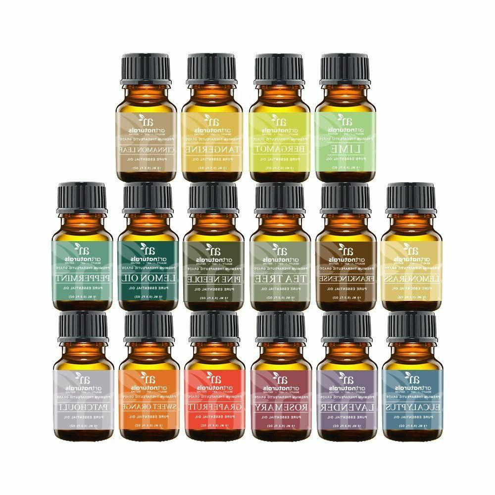 Essential Oils Set 16pc for Air Therapy Humidifier Vapor