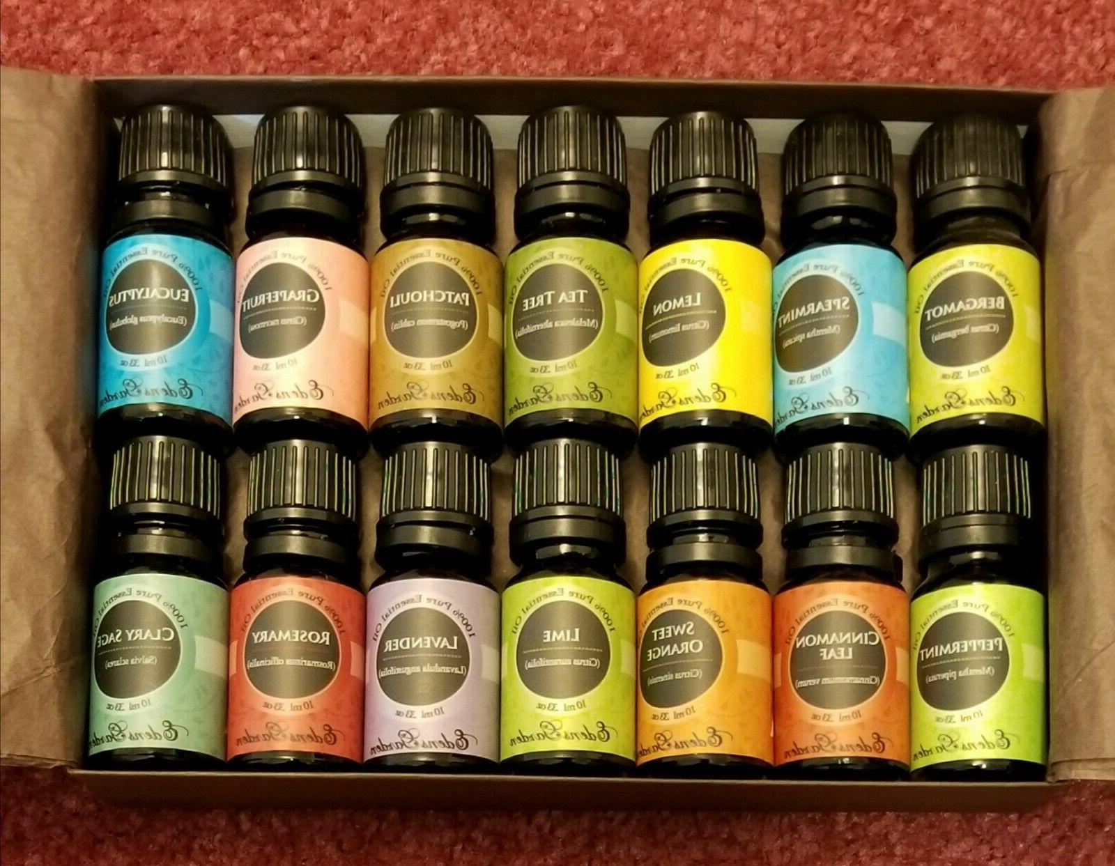 essential oils set of 14 in box