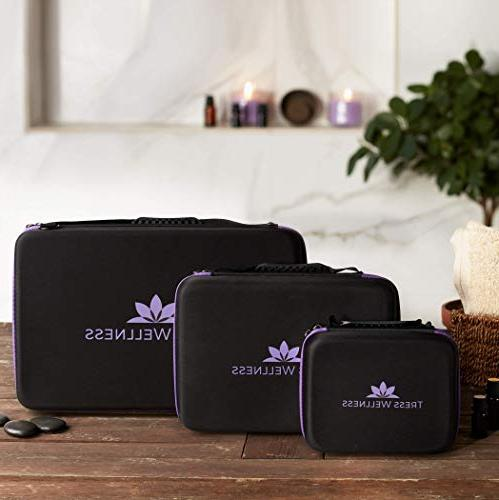 Essential Oils Storage 70 Oils 15 ml Essential Oils Case - Oil Travel Holds Young Living & Containers Holder
