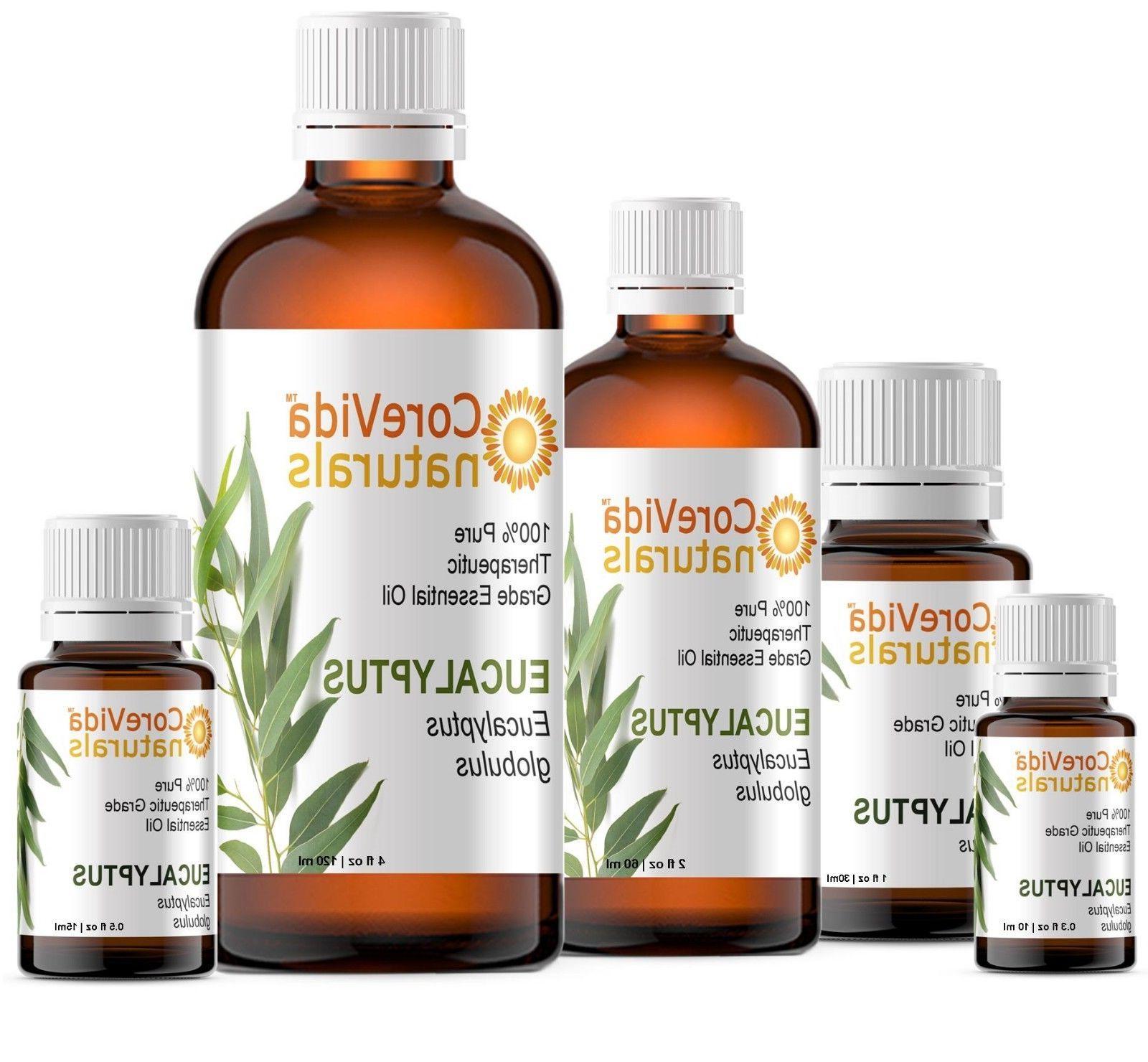 Eucalyptus Essential Oil 10ml - 120ml 100% Pure Therapeutic