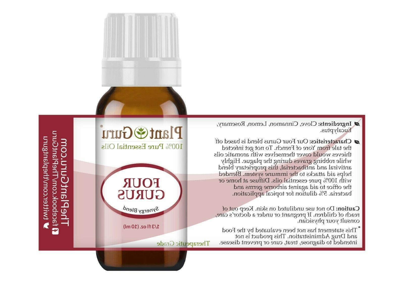 Four Gurus Essential Blend 100% Pure Therapeutic Grade Thieves