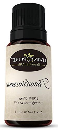 Living Pure Frankincense Essential Oil | 100% Natural & Orga