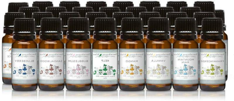 Gift Set Of 32 Premium Fragrance Oils - Barnhouse Blue