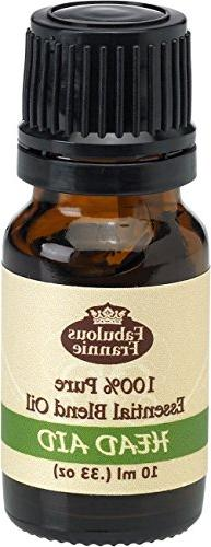 Head Aid Pure Essential Oil Blend 10mL made with Lavender, P