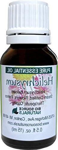 Helichrysum Pure Essential Oil 0.5 fl oz Steam Distilled by