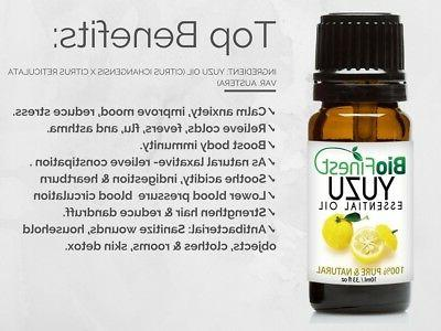 Biofinest Yuzu Oil Organic Be