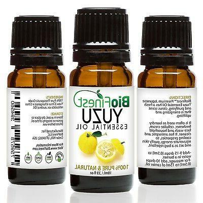 japanese yuzu essential oil 100 percent pure