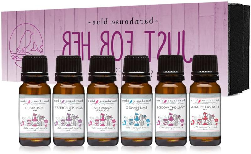 Just For Her Gift Set Of 6 Premium Fragrance Oils - Guava Co