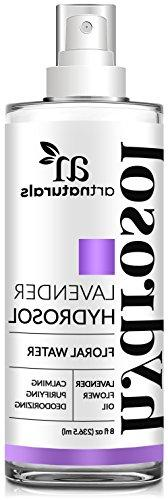 ArtNaturals Lavender Essential Oil Hydrosol Floral Water Spr