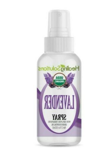 lavender spray essential oil 2 fl oz