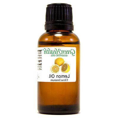 1 fl oz Lemon Essential Oil  - GreenHealth