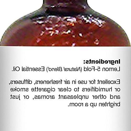 Majestic Pure Lemon Therapeutic Quality Lemon Oil, 4 fl. oz