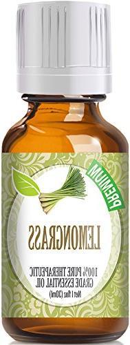 Lemongrass  100% Pure, Best Therapeutic Grade Essential Oil