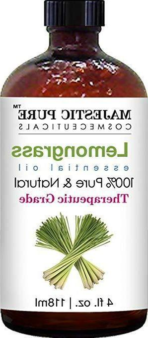 Majestic Pure Lemongrass Oil, Pure Natural with