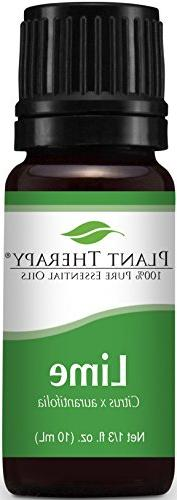Plant Therapy Lime Essential Oil 10 mL  100% Pure, Undiluted