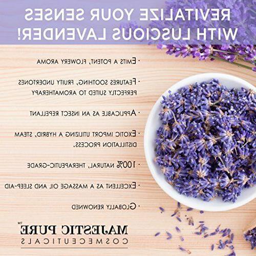 Majestic Pure Lavender Oil of Lavender