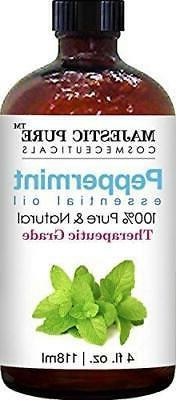 Majestic Pure Peppermint Oil, Natural,