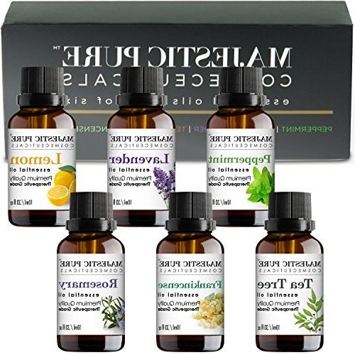 MajesticPure Set, Includes Peppermint, Tea & Oils Pack each