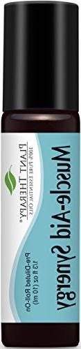 Plant Therapy Muscle-Aid Synergy Pre-Diluted Essential Oil R