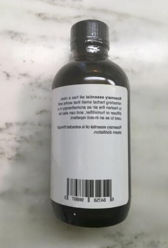 New Rosemary oil 4oz Theraputic Grade