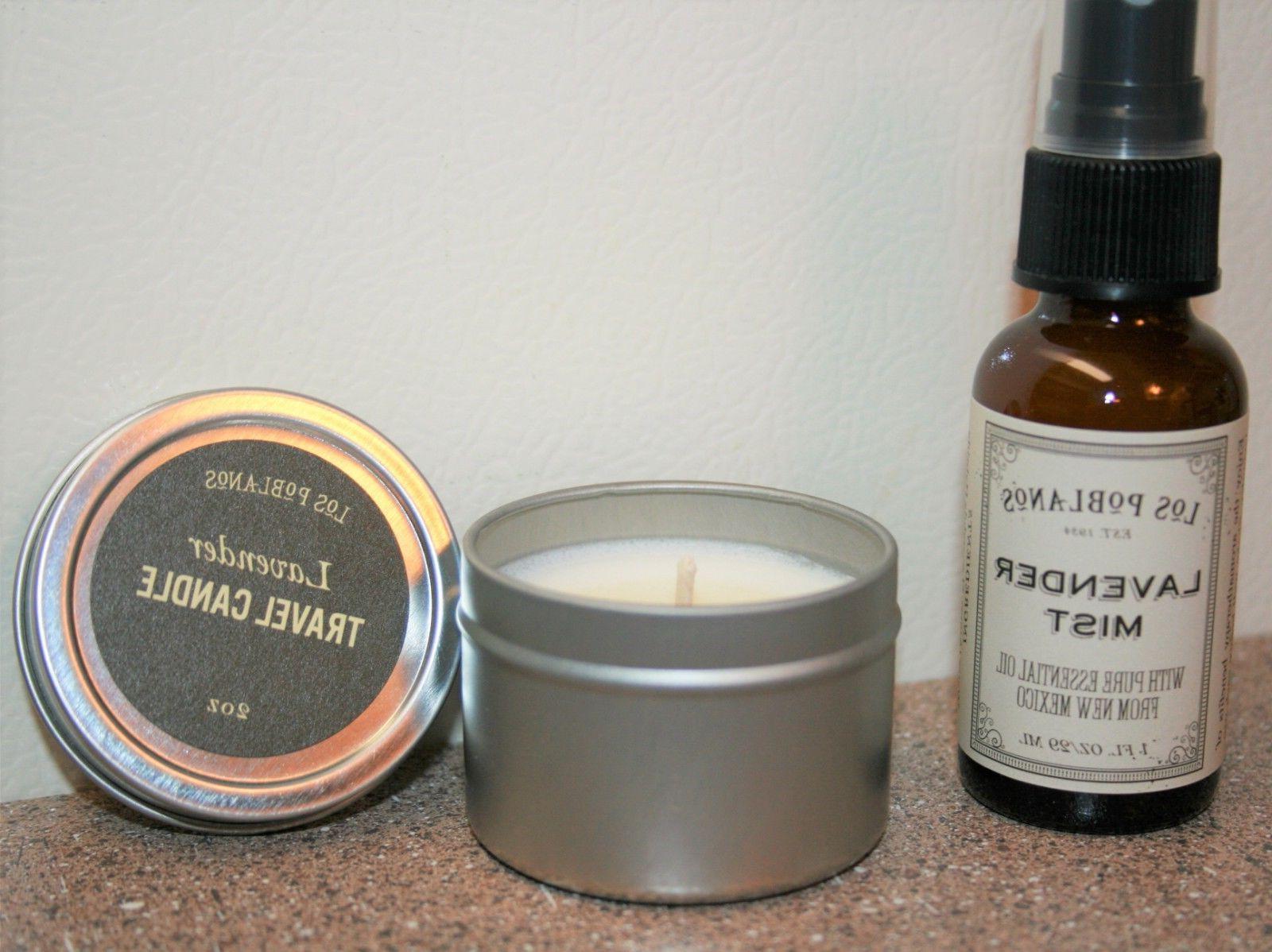Los Poblanos New Mexico Organic Lavender Essential Oil Mist