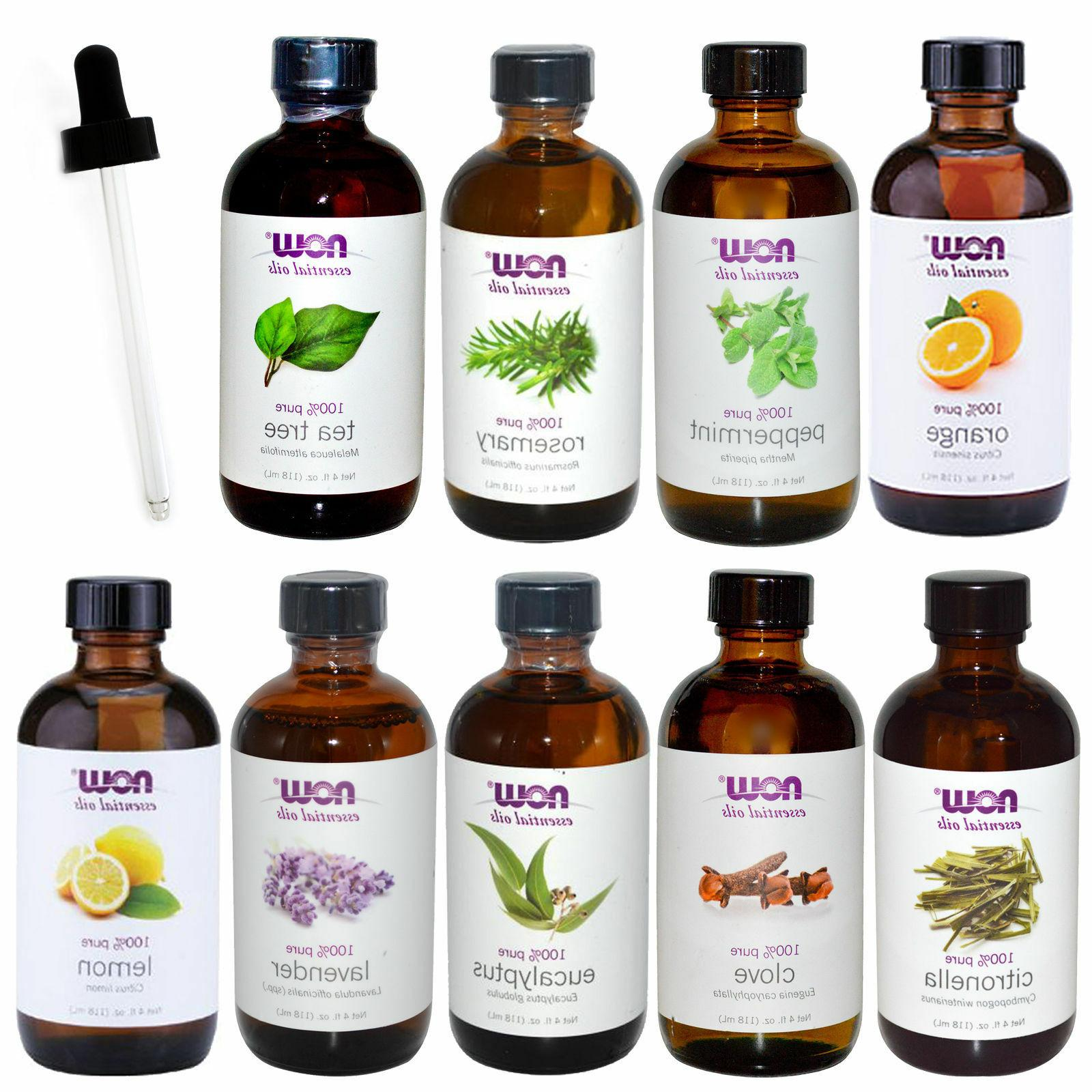 NOW Foods Scents Peppermint Orange Oil Dropper Option