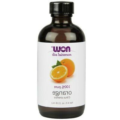 Now Foods Orange Oil 100% Pure & Natural - 4 oz