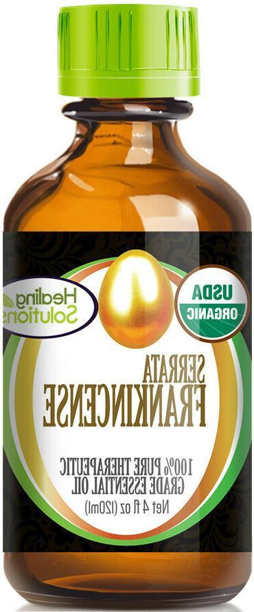 organic frankincense essential oil 100 percent pure
