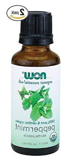 Now Foods Organic Peppermint Oil, 1 OZ