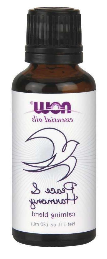 NOW Peace and Harmony Essential Oil Blend, 1-Ounce